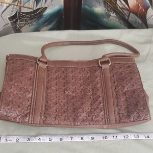 Alfred dunner Brown purse Leather